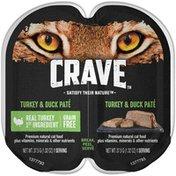 Crave Turkey & Duck Paté Premium Cat Food