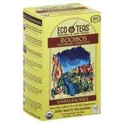 Eco Teas Tea, Rooibos, Warm Balance, Organic, Box
