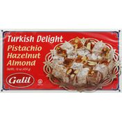 Galil Turkish Delight, with Mixed Nuts