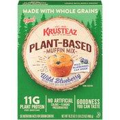 Krusteaz Wild Blueberry Plant-Based Muffin Mix
