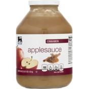 Food Lion Applesauce, Cinnamon, Jar