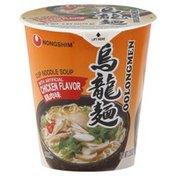 Nongshim Noodle Soup, Cup, Oolongmen, with Artificial Chicken Flavor