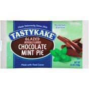 Tastykake Glazed Chocolate Mint Pie