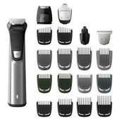 PHILIPS Norelco Multigroom Series 7000 23 Piece Mens Grooming Kit, Trimmer for Beard, Head, Body, and Face - NO BLADE OIL NEEDED, MG7750/49