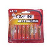 Homeline Alkaline Long Life Batteries