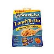 StarKist Chunk White Tuna Salad Lunch Kit