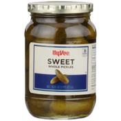 Hy-Vee Sweet Whole Pickles