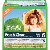 Seventh Generation Diaper Spring Jumbo Stage 6