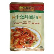 Lee Kum Kee Sauce, Tomato Garlic Prawns