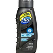 Dial Body Wash, Moisture Magnet, For Men