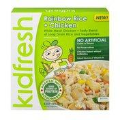 Kidfresh Rainbow Rice + Chicken