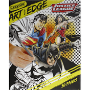 Crayola Coloring Pages, Art with Edge, Justice League