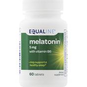 Equaline Melatonin, with Vitamin B6, 5 mg, Tablets
