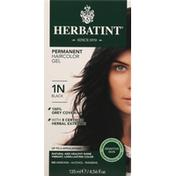 Herbatint Haircolor Gel, Permanent, Black 1N