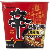 Nongshim Noodle Soup, Shin, Gourmet Spicy