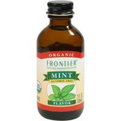 Frontier Natural Products Co-op Frontier Certified Organic Mint