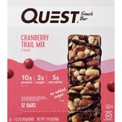 Quest Snack Bar, Cranberry Trail Mix Flavor