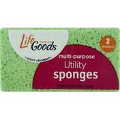 Life Goods Sponges, Utility, Multi-Purpose
