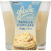Glade Candle, Vanilla Cupcake