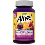 Nature's Way Alive!® Premium Women's 50+ Gummy Multivitamin