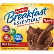 Carnation Breakfast Essentials Dark Chocolate Carnation Breakfast Essentials Dark Chocolate Complete Nutritional Drink