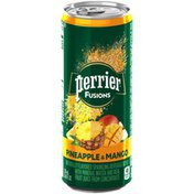 PERRIER Fusions Pineapple and Mango Flavor