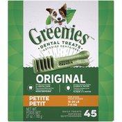 GREENIES Original Petite Dental Dog Treats