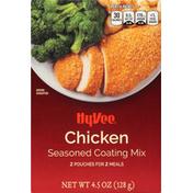 Hy-Vee Coating Mix, Seasoned, Chicken