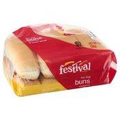 Festival Foods Hot Dog Buns, Enriched