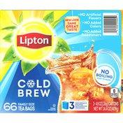 Lipton Family Size Tea Bags Cold Brew Iced Tea
