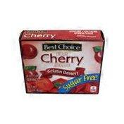 Best Choice Sugar Free Cherry Gelatin