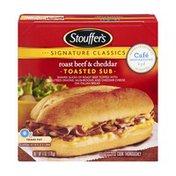 Stouffer's Signature Classics Roast Beef & Cheddar Toasted Sub