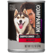 Companion Chopped Beef Dog Food