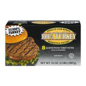 Philly-Gourmet 100% Turkey Homestyle Patties - 8 CT