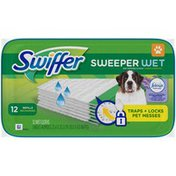 Swiffer Sweeper Pet, Dry Sweeping Cloth Refills, Unscented