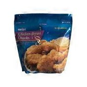 Meijer Chicken Breast Chunks Boneless Skinless Fritters With Rib Meat
