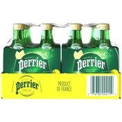 PERRIER Lemon Flavored Carbonated Mineral Water