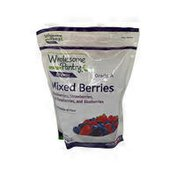 Whole-Some Pantry Organic, Mixed Berries Blackberries, Strawberries, Raspberries, Blueberries