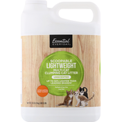 Essential Everyday Clumping Cat Litter, Multi-Cat, Lightweight, Scoopable, Unscented