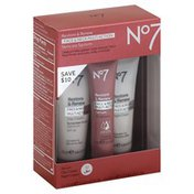 No7 Skincare System, Face & Neck Multi Action, Restore & Renew