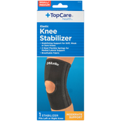 TopCare Small/Medium Moderate Support Elastic Knee Stabilizer