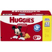 Huggies Snug & Dry Size 3 Diapers