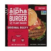 Alpha Foods Beefless Burgers Box