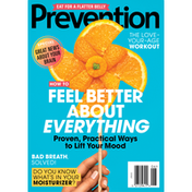Prevention Magazine, How To Feel About Everything, June 2021