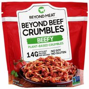 Beyond Meat Plant-Based, Beefy Crumbles