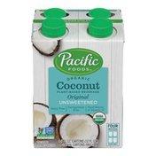 Pacific Foods Organic Coconut Original Unsweetened Pacific Foods Organic Coconut Original Unsweetened Plant-Based Beverage