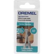 Dremel Cutter, High Speed, 117, 2 Pack