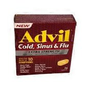 Advil Extra Strength Cold, Sinus & Flu Tablets