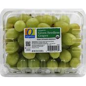 O Organics Grapes, Organic, Green Seedless