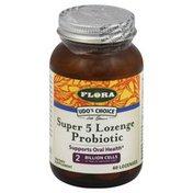 Flora Probiotic, Super 5 Lozenge